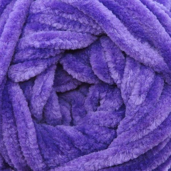Bella Chenille Solids - 116 - Pansy Purple