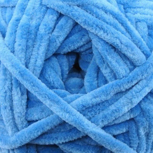 Bella Chenille Solids - 109 - Blueberry