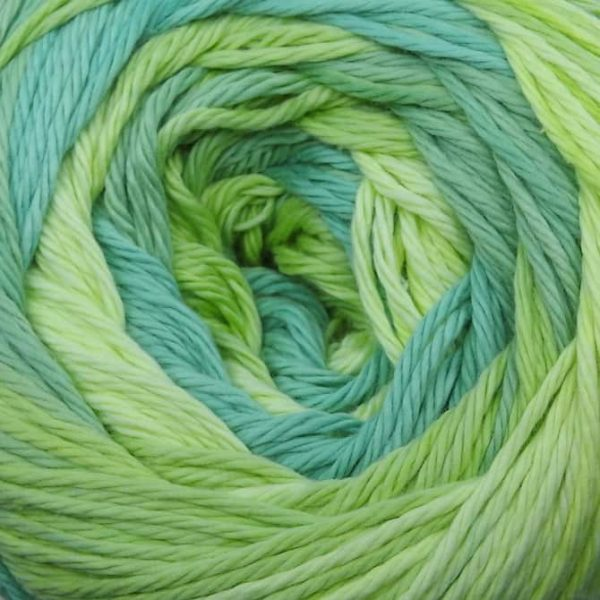 Painted Cotton - 02-Lime Twist