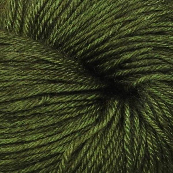 Silk Sock - Bitter Olive