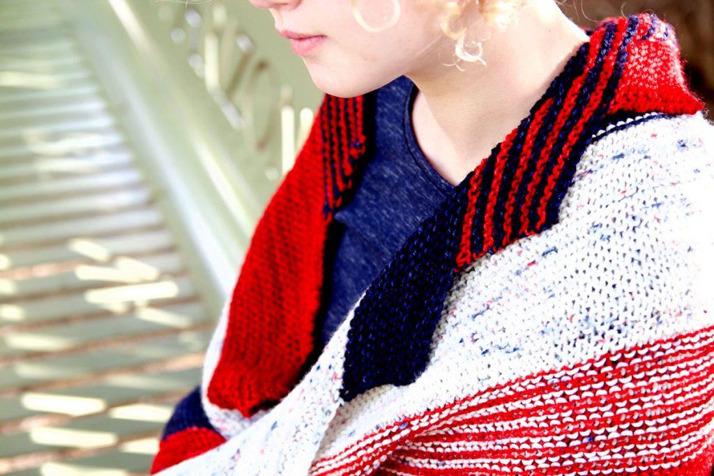 Wilma wildcat shawl