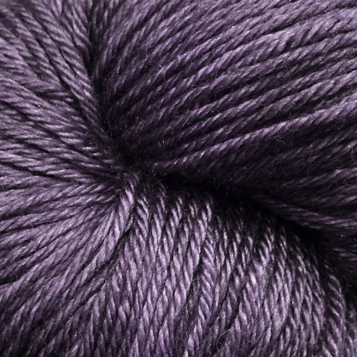 Silk Sock - Dark Plum