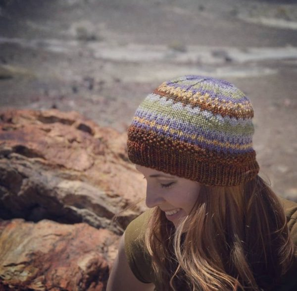 Petrified forest beanie