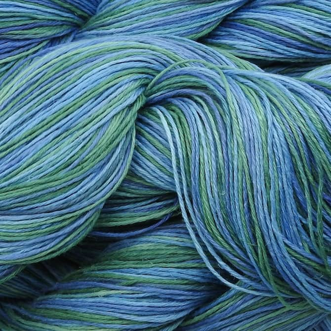 Claudia Hand Paints - Caribbean Blue - Drama