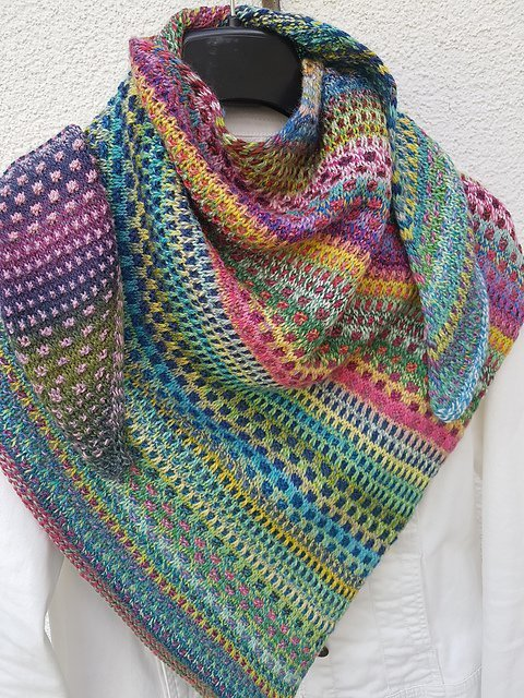 Findus42 Nightshift Shawl