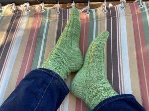 socks on hammock